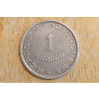 Мозамбик 1 эскудо 1950