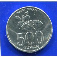 Индонезия 500 рупий 2003 UNC