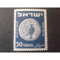 Израиль 1950 монета 30