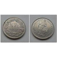 1/2 франка Швейцария 1979 год, KM# 23a.1, 1/2 FRANC, из коллекции