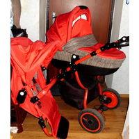 Коляска lonex speedy v light детская коляска 2 в 1