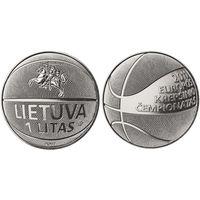 Литва 1 лит 2011 Чемпионат Европы по баскетболу UNC