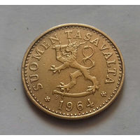 10 пенни, Финляндия 1964 г.