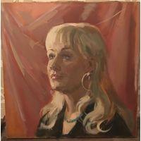 Барабанцев В.К. Портрет Светланны.1980