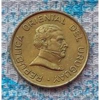 Уругвай 2 песо 1994 года, AU