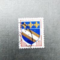Марка Франция 1970 год. Стандартный выпуск