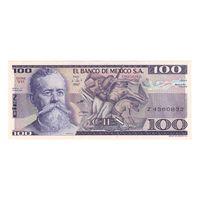 Мексика 100 песо 1982 года. Состояние UNC!