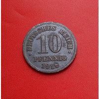 33-10 Германия, 10 пфеннигов 1918 г.