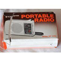 Винтажный Транзисторный Японский радиоприемник портативный - раритет