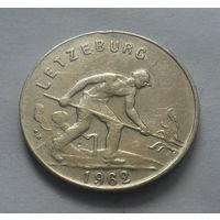 1 франк, Люксембург 1962 г