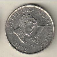 Филиппины 1 песо 2012