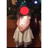 Красовое платье на рост 98-104