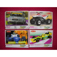 Вкладыши Turbo sport 471-540