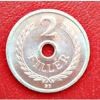 Венгрия, 1973 г., 2 филлера