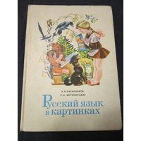Русский язык в картинках . Баранников, Варковицкая