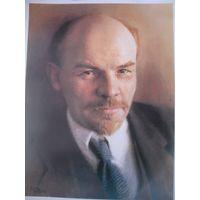 Плакат СССР Ленин