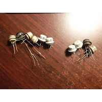 Транзисторы МП 40 (6 шт)+МП 40А (4 шт) - Все одним лотом