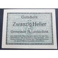 Нотгельд. 20 геллеров #43