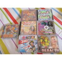 Музыка сборники на дисках