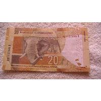 ЮАР 20 рандов. PD1157446 B  распродажа