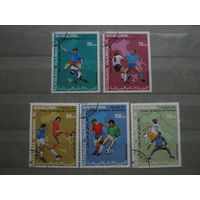 Марки - Мавритания, 1990 - спорт, футбол, чемпионат мира