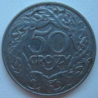 Польша 50 грошей 1923 г. (a)