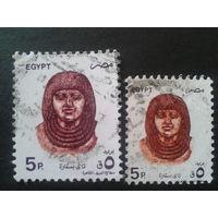 Египет 1993-1994 бюст фараона