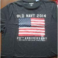 "Майка OLD NAVY ""USA FLAG""  из США  разм.L (L американский = XL европейский)"
