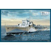 ORP Kujawiak 1942 Hunt II class destroyer escort  IBG 70002  1/700