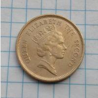 Гон Конг 50 центов 1990г. Елизавета 2.