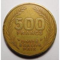 Джибути.500 франков 1991г.