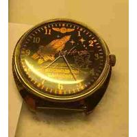 Мужские механические часы Ракета с эмблемой космодром Байконур