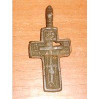Бронзовый крестик XVIII-XIXв. в реставрацию