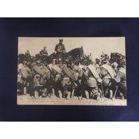 Царь Николай ll с иконой и 148 пехотный полк!