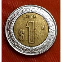 103-09 Мексика, 1 песо 2008 г.