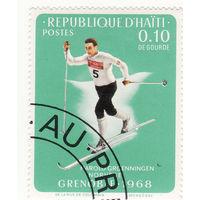 Г. Гроннинген, беговые лыжи 1968 год