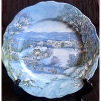 Декоративная тарелка Limoges
