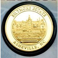 Коллекционная монета/жетон BILTMORE ESTATE VANDERBILT 1895