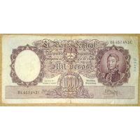 1000 песос 1935г.
