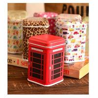 """Коробка """"Телефонная будка"""" для монет, чая и др. можно использовать как капилку.  распродажа"""