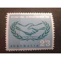 Австралия 1965 сотрудничество