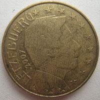 Люксембург 50 евроцентов 2007 г.