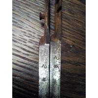 Ножницы старые хирургические клейма