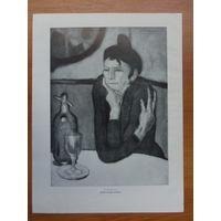 Пикассо и Матисс, литография двухсторонняя, 1959