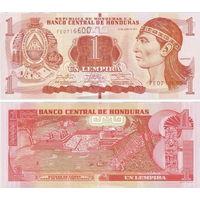 Гондурас  1 лемпира   2014 год  UNC