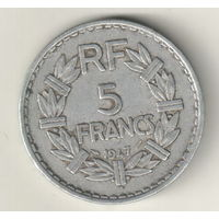 Франция 5 франк 1947