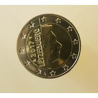 Люксембург 2 евро 2017 г. UNC!