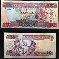 Банкноты мира. Соломоновы Острова, 10 долларов