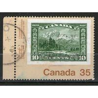 Канада. Михель- 825. Гашеная