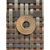 Британская Восточная Африка 1 цент 1959 г.